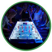Tischfussball-Beleuchtung